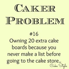 Yes! #cakerproblems #cakestyle www.youtube.com/user/cakestyletv