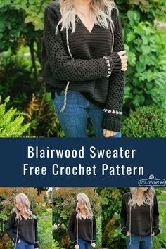 Crochet Cozy, Crochet Crafts, Crochet Sweaters, Crochet Projects, Crochet Jumpers, Crochet Winter, Crochet Socks, Chunky Crochet, Knitting Projects