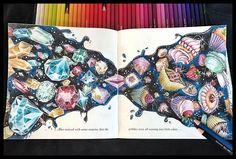 ✨💎🍒✨#adultcoloringbook #adultcoloring #diamond #escapetowonderlandcolouringbook #fabercastellglobal #polychromos #goodwivesandwarriors