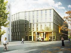 198 student apartments ETH Zurich - ball of moss Krucker Architekten