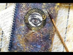 This video tutorial contains scrapbook advertisement! Thanks a lot for stopping by! Journal Covers, Journal, Art, Collage Art, Cover Art, Art Journal, Altered Art, Art Journal Pages, Art Journal Cover