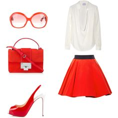 red for Monday Shoe Bag, My Style, Red, Collection, Shopping, Design, Women, Fashion, Moda