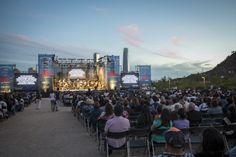 3.000 personas disfrutaron con la función gratuita del concierto Amor sin barreras en el Parque Bicentenario. Foto: Patricio Melo