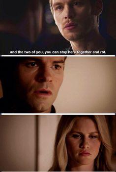 The originals - Klaus, Elijah and Rebekah #Season1