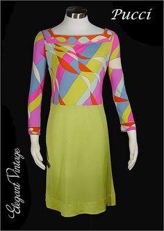1960s Emilio Pucci Dress