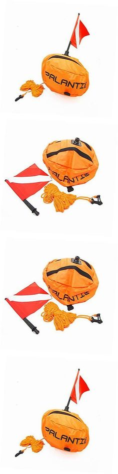 Flags and Markers 73999: Palantic Scuba Diving Spearfishing Nylon Ball Shape Float With Dive Flag -> BUY IT NOW ONLY: $44.52 on eBay!