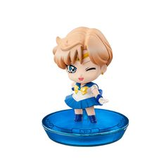 Petit Chara Sailor Uranus figures. Order info and pics here http://www.moonkitty.net/buy-bandai-tamashii-nations-sailor-moon-sh-figuruarts-figures-models.php #SailorMoon #Moonkitty