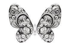 butterfly by Si Scott