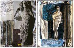 Fashion Sketchbook - contextual research & theme ideas for textiles & fashion design and development; fashion portfolio // Helen Stead
