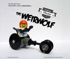 """David """"Weirwolf"""" Weir, wheelchair racer, Great Britain    http://www.paralympic.org/athlete/david-weir"""
