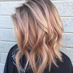 Pin for Later: Pastel Peach-Hued Hair Is the Perfect End-of-Summer Shade
