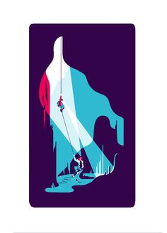 MOUNTAIN by Tom Haugomat, via Behance