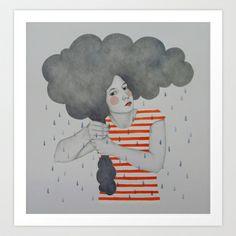 Luella Art Print by Sofia Bonati - $17.00