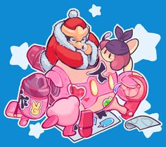 get your friends together and have fun with stickers! Kirby: Planet Robobot is really gooodddd