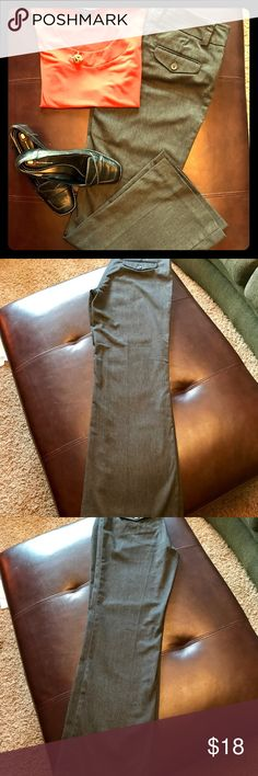 """NY&C dress pants. Soft and comfortable! In great shape! Worn only a handful of times, mostly for interviews. Keeps you looking professionally styled. Wear with heels or flats. Inseam is 28.5"""" long. Size 2P. New York & Company Pants Trousers"""