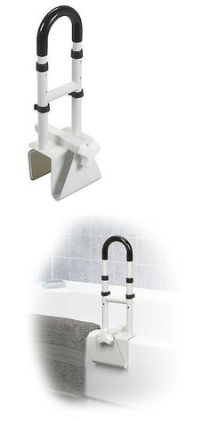 Tub Grab Bar Clamp On handles and rails: bathroom safety grab bar stainless steel
