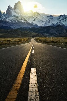 500px / Photo The Road to Fitzroy by Jimmy Mcintyre