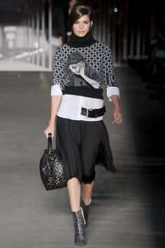 Fall 2012 fashion trend--Witty Knits  Diesel Black Gold