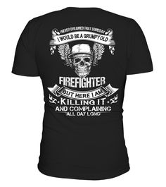 FIREFIGHTER  => Check out this shirt or mug by clicking the image, have fun :) Please tag, repin & share with your friends who would love it. #firefightermug, #firefighterquotes #firefighter #hoodie #ideas #image #photo #shirt #tshirt #sweatshirt #tee #gift #perfectgi