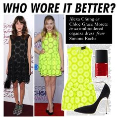 """Who Wore It Better: Alexa Chung or Chloë Grace Moretz"" by polyvore-editorial ❤ liked on Polyvore"