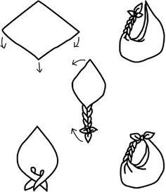 Coisas de Vanesa: Furoshiki