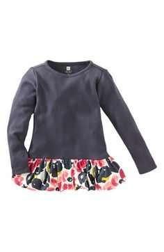 Tea Collection 'Water Blossom' Bubble Top (Toddler Girls, Little Girls & Big Girls) | Nordstrom