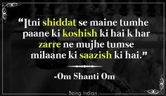Om Shanti Om, Bolywood, Shahrukh Khan