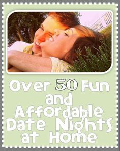 Yay! Now we have a year's worth of date night ideas!