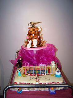 my daughter Daïana's cake for her 10 years... Aladdin's theme... made by a friend of mine Aimée.