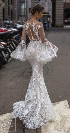 Tarik Ediz Wedding Dresses 2019 - The White Bridal Collection. , Tarik Ediz Wedding Dresses 2019 - The White Bridal Collection. Lace Mermaid Wedding Dress, Gorgeous Wedding Dress, White Wedding Dresses, Mermaid Dresses, Beautiful Gowns, Bridal Dresses, Wedding Gowns, Lace Dress, Wedding White