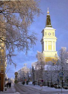 Talvisia kaupunkikuvia - Oulun kaupunki - Picasa-verkkoalbumit: