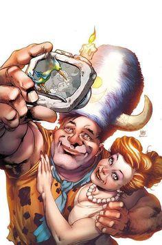The Flintstones - Ivan Reis