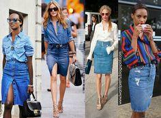 I want pretty: LOOK-¿Cómo usar una falda de mezclilla?