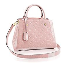 Louis Vuitton Montaigne BB pink