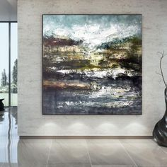 Large Wall Art Abstract Acrylic Paintings Modern Abstract image 1 Large Abstract Wall Art, Large Canvas Wall Art, Extra Large Wall Art, Large Painting, Canvas Art, Original Paintings, Acrylic Paintings, Colorful Artwork, Texture Art