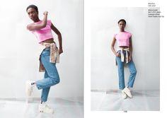 lav unused handmade crop top, levi's 501 jeans & mohxa shirt