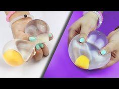 DIY Galaxy Squishy Stress Ball   MonsterKids - YouTube