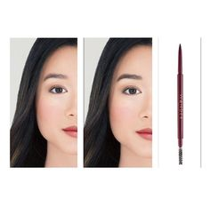 Build full, beautiful brows with our Frame Your Face Micro Brow Pencil ▪️ Use short strokes to define the brow and fill in sparse areas, then use the spoolie to brush through for a natural looking finish!