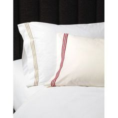 Eastern Accents Tessa Egyptian Pillowcase Size: Standard, Color: Ivory/Pear