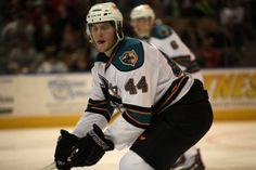 Worcester Sharks defenseman Adam Comrie (March 21, 2014).