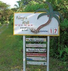 The human population at Palmyra Atoll Refuge varies as Palmyra Atoll ...