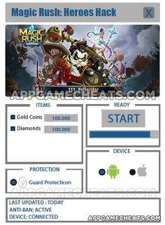 Magic Rush: Heroes Tips, Cheats, & Hack for Gold Coins & Diamonds  #MagicRushHeroes #RPG #Strategy http://appgamecheats.com/magic-rush-heroes-tips-cheats-hack-gold-coins-diamonds/