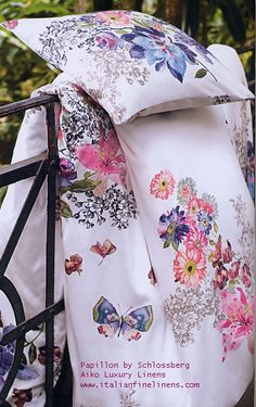 Just beautiful bed linens