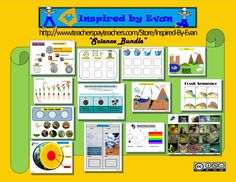 Science Bundle for Autism: Inspired by Evan Autism Resources.