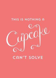 Free Cupcake Printable