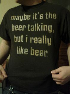 Maybe it's the beer...