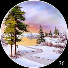 Фотография Easy Landscape Paintings, Amazing Paintings, Landscape Prints, China Painting, Acrylic Painting Canvas, Birthday Card Drawing, Acrylic Painting Inspiration, Bob Ross Paintings, Winter Painting