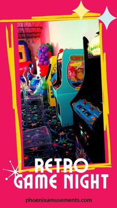 Love the 80s? We got the games for them and a Vintage Photo Booth too!