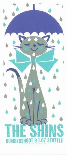 me imagino toda una franela llena de gotas. Love the Rain