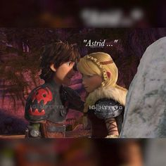 """I saw a drawing like this and I just knew where to find those positions on Hiccup and Astrid so I made this ;-; • Do you guys like it? • #QOTD last Emoijs…"""